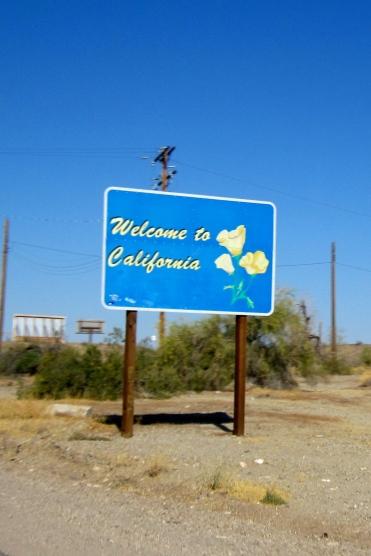 Entering California