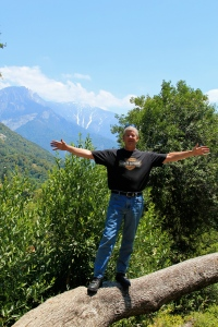 Dad in Sequoia National Park