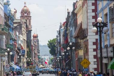 Road in Puebla