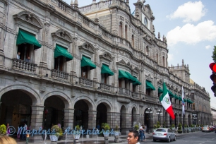 Main Building in Puebla