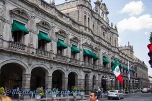 Main Building in Puebla