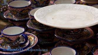 Where those beautiful ceramic dishes are made