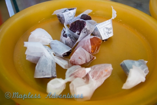 Sweet Potato Sweets from the sweet markets in Puebla