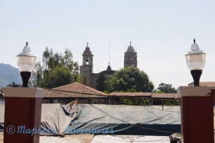 Church from the central
