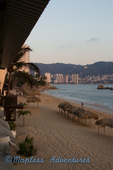 Acapulco at sunset