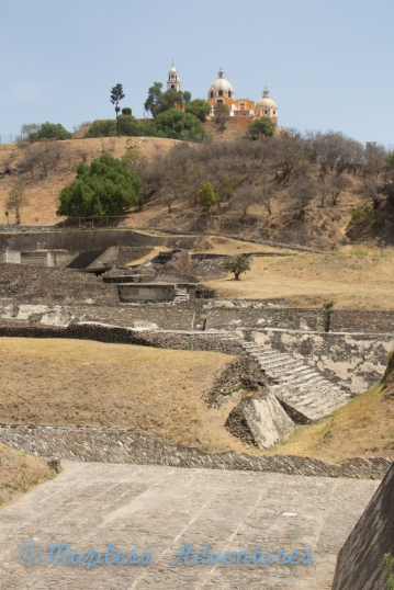 Aztec Temple at Cholula