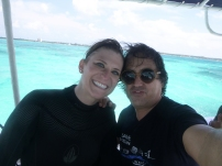 My dive master!