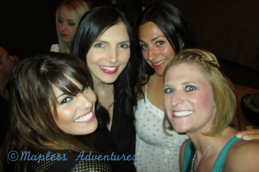 Love these girls...Rocky, Nat, Jess and Me