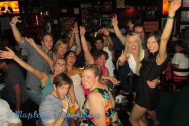 """Group photo- pretty sure we were dancing to """"Get Lucky"""""""