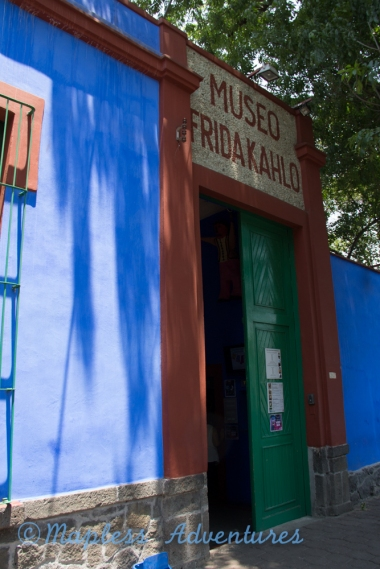 First view of Frida's house
