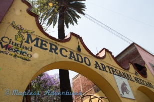 the mercado in Coyoacan