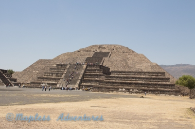 The Pyramid of the Moon