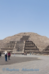 Pyramid of the Moon.