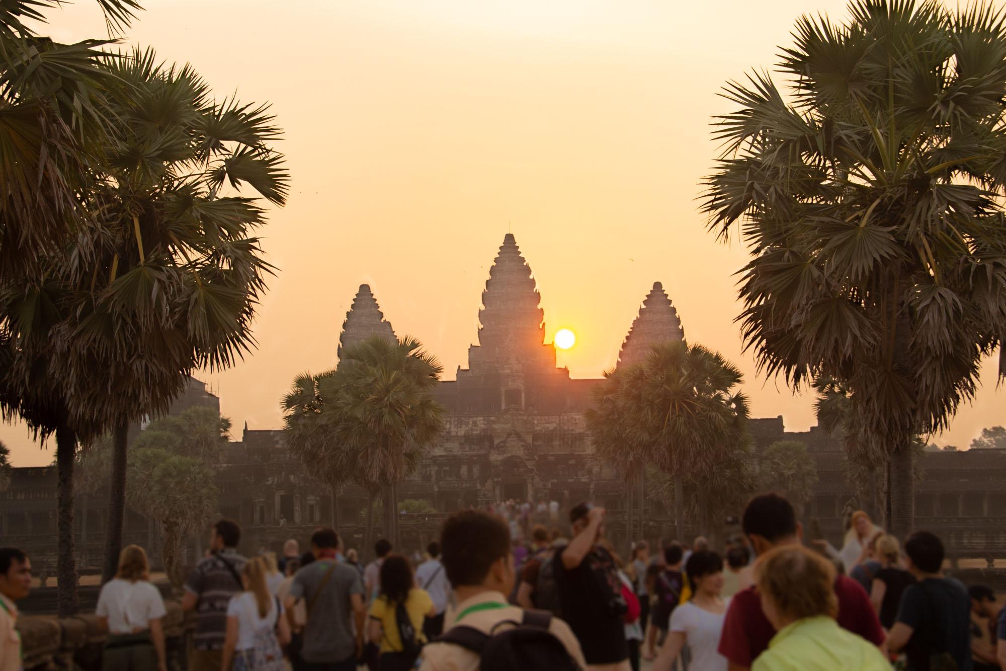 Angkor Wat Sunrise Siem Reap