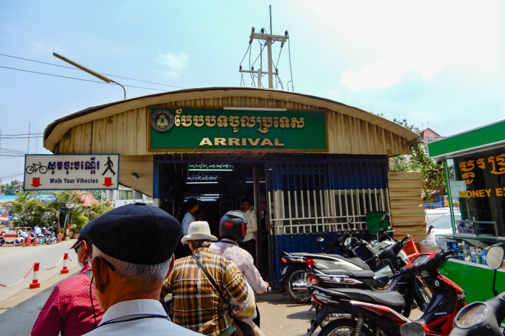 border crossing Cambodia
