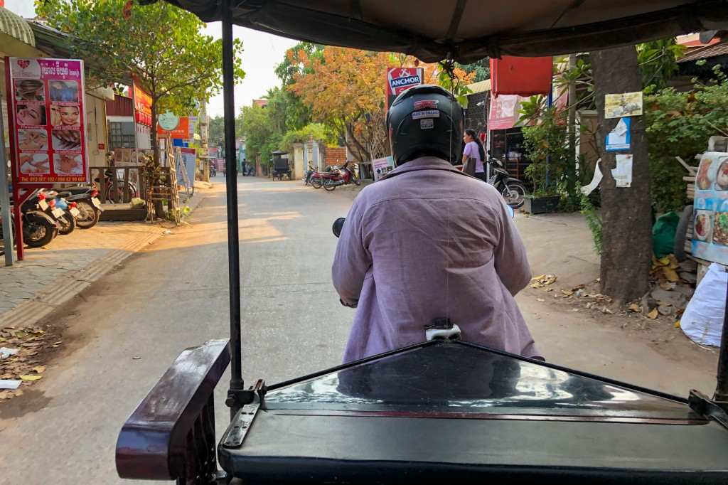 Siem Reap Cambodia Tuk Tuk